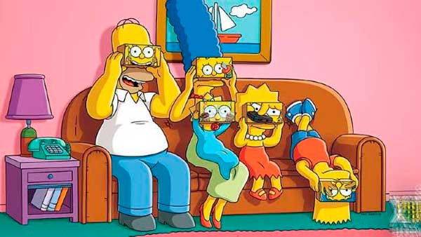 gafas virtual los simpson