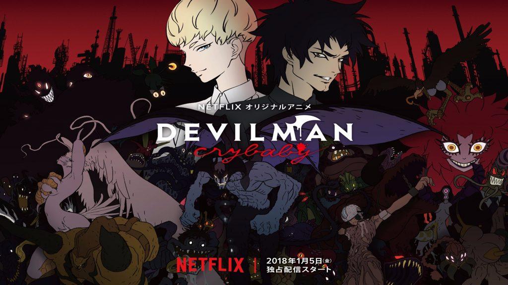 Devilman Crybaby para Neflix