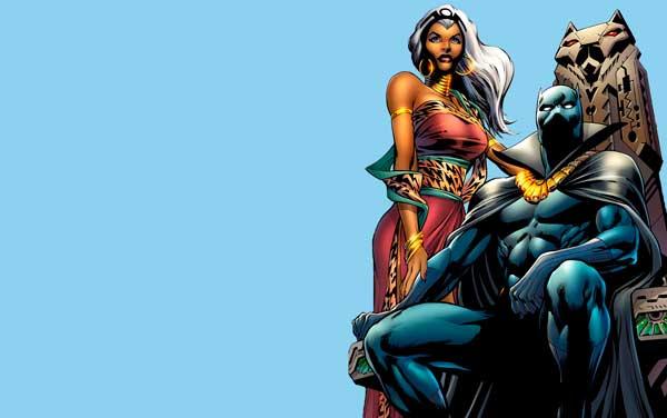 pantera negra casada