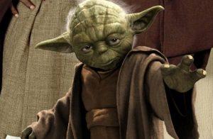 Yoda tambien tiene su lado oscuro