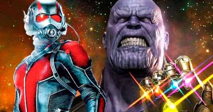 conexion de ant man y infinity war