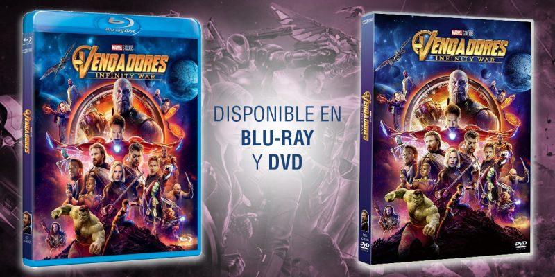 comprar infinity war dvd