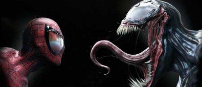 venom y spiderman
