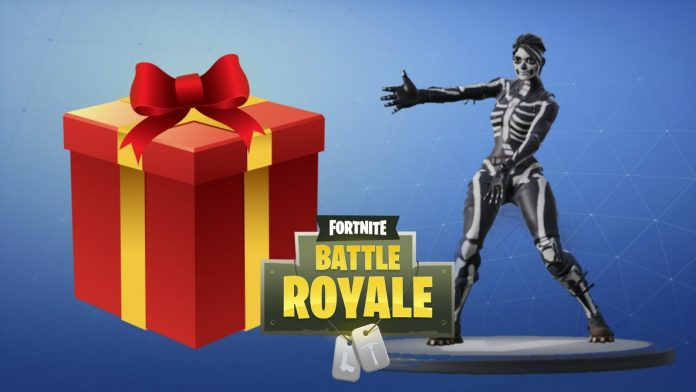 sistema de regalos fortnite