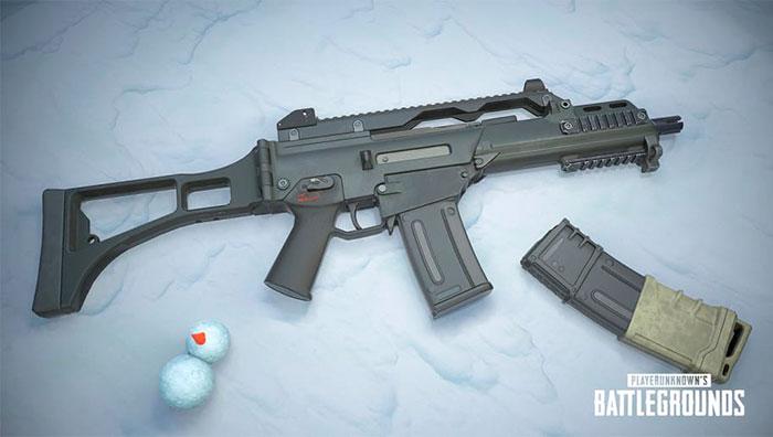 nueva arma pubg