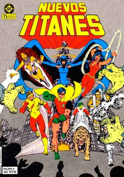 comics nuevos titanes