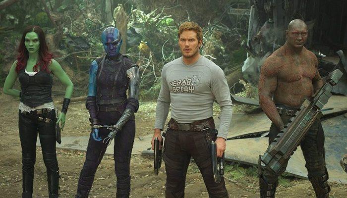 rodaje de guardianes de la galaxia 3