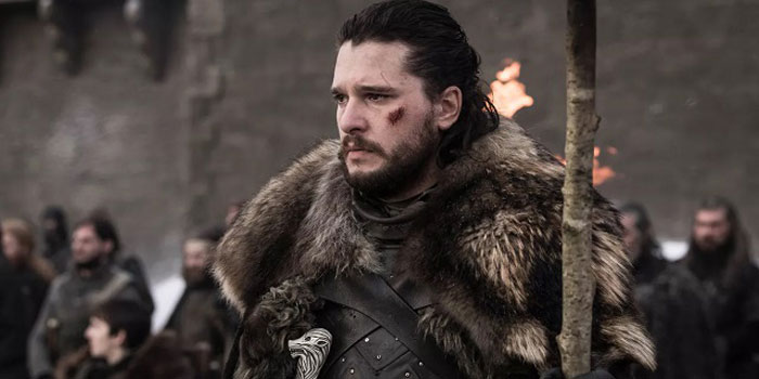 jon nieve al final de GOD