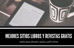 libros y revistas gratis