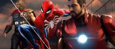 videojuego vengadores spiderman