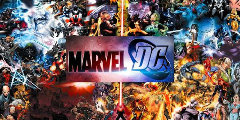 superheroes marvel y dc