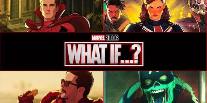 personajes en serie what if