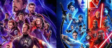 series star wars y marvel